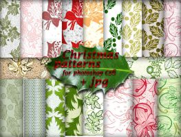 Christmas patterns2 by roula33