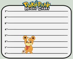 PokePark dA: Archie Height Chart by mistyfoxx244