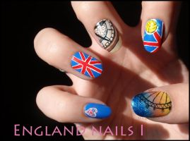 England Nails I by Ninails