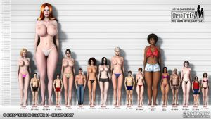 Cheap Tricks III - 10 - Height Chart by bmtbguy