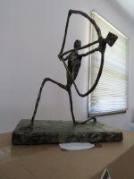 Sculpture Project: Long Man by Eclair1998