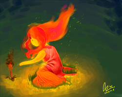 Flame Princess by kojangee