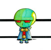 Baby Martian Manhunter by olivernome