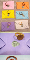 My Little Pony Mane Six Signet Rings and Seals by Henry-Crun