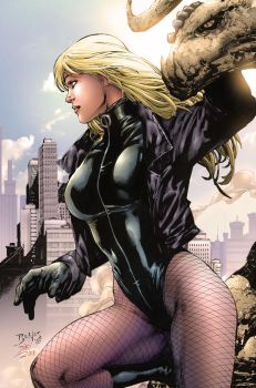 Black Canary by dinei