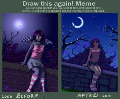 Before and After Meme by JenniferEasley
