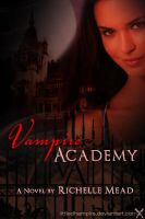 VA: Vampire Academy Book Cover by littledhampirs