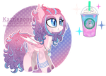Unicorn Frappe - Starbucks Themed [CLOSED] by Kazziepones