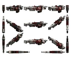 Mass Effect 3, Blood Pack Punisher (Folded) Ref. by Troodon80