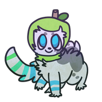 chibi for magnet crayon 2 by alfvie
