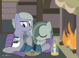 #dm29HolidayHorse Day 20: The Pie Sisters by dm29