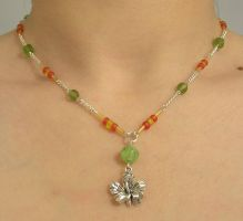 Hibiscus Necklace by Cillana
