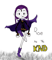 Rae, KND-ified by theghostlyartist