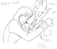 Bella And Jacob by brianna13