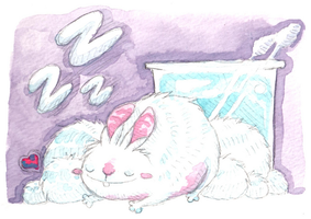 A cotton ball discovery by cottoncritter
