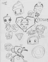 Its All About Gir! by SkullCupcakez