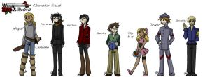 TWAM- Characters by liliy