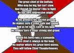 My Little Poetry: Chief Thunderhooves by snakeman1992