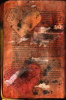 altered book texture 20 by watergal28-stock