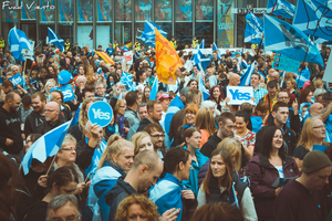 Yes to Scottish Independence by fuadviento