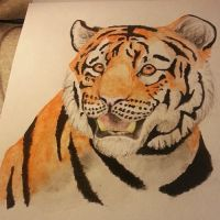 Water Color Tiger by Mango-Cat