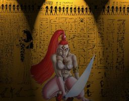 "Art Gift ""Egyptian Warrior"" by Pharaoh009"
