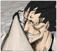 Bleach: Kenpachi's Sealed Eye by abcdefghijkL0L
