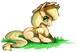applejack by hootaloo