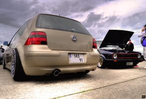 VW Golf IV and Golf One - Vw Day's - france by SnooP57