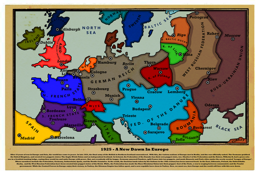 1925 - A New Dawn In Europe by Tardis218