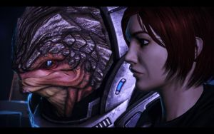 ME3 CDLC - Ellis Shepard and Grunt by chicksaw2002