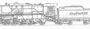 H B and S 2-8-2 by simulatortrain