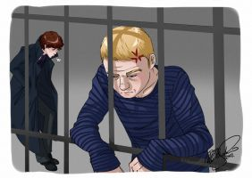SherlockBBC: Jail Time by KrisKenshin