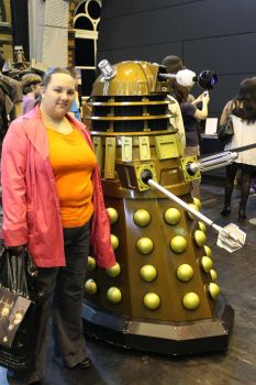 me and a dalek by loxanna