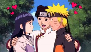 NaruHina kiss already! by 777luck777