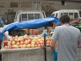 Buying Fruit by OleMid2007