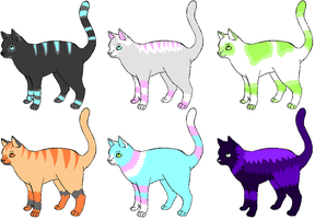 Cat Adopts 1 -No points- by Dezu-Adopts