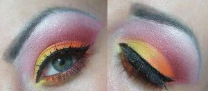 sunset by munstermakeup