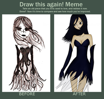 Before and After Meme: Mizuki by MoonLight3