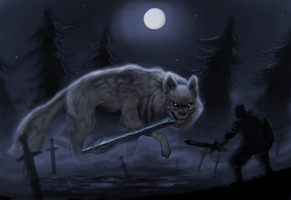 The great wolf Sif by Henkkab