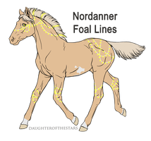 A3127 Magelight - foal design by WhiteWoodWardens