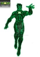 Green Lantern Ion Redesign Colours copy by kameleon84