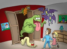 No monsters in the closet? by Jwpepr