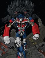 Transformers Movie Optimus by JonWes