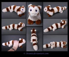 Plushie Commission: Furret the Pokemon