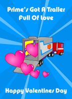 Transformers Valentines Card 2009 by deadcal
