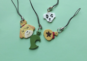 Animal Crossing Charms by MNGengar