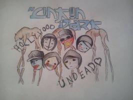 linkin park and hollywood undead by SasukeSkittles