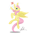 Adawable FLuttershy by Wreky