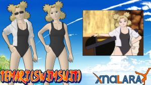 Naruto UNS3 - Temari (Swimsuit)FOR XPS by MVegeta